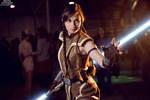 Jedi Grand Master Satele Shan (Star Wars) by Svetliy-Sudar