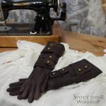 lady Maria hunter leather gloves (replica) by Svetliy-Sudar