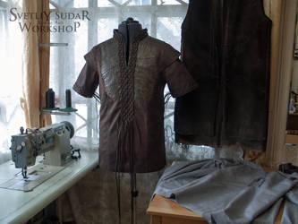 Workdays of the leather workshop by Svetliy-Sudar