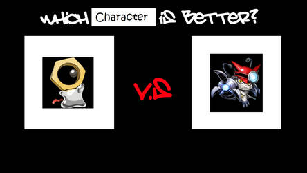 Which Character is Better? Meltan or Gatchmon by finalmaster24