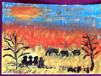 Hand painted aceo by Buffy2008