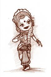 Bharatanatyam by minkz10