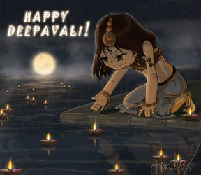 Deepavali greetings by minkz10