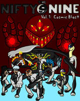 The Nifty Nine - Vol. 1 - Cosmic Blast (new) by JumpieComics