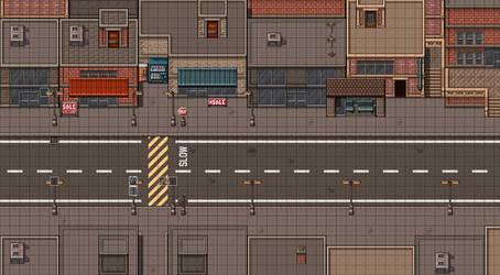 Main Street - Market District by xXTragicAngelXx