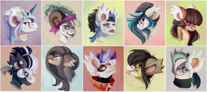 face bunch by Kirwicked