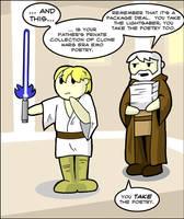 Anakin's Emo Poetry by derangedcomics