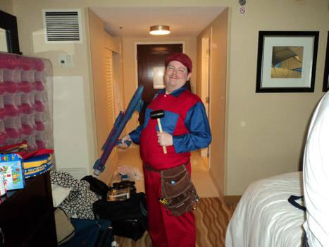 Mario Movie Cosplay - Otakon 2011 by LBDNytetrayn