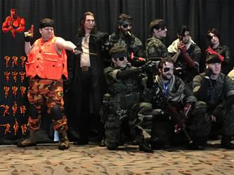 Lt. Solid Snake - Otakon 2016 Cosplay by LBDNytetrayn