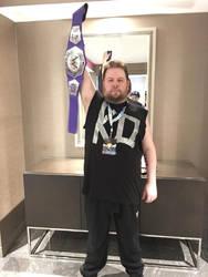 Kevin Owens Cosplay - Otakon/Fan Expo 2018 by LBDNytetrayn