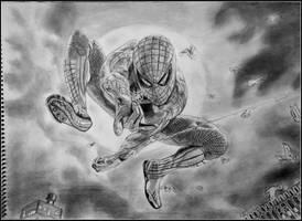 the amazing spider man by BhavikVyas