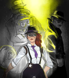 Fornite detectives by RevyOwls
