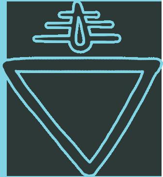 The Fresh Waters Biome badge.