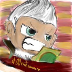 Maplestory Aran by d00mhammer