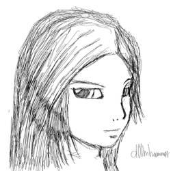 Asura sketch by d00mhammer