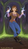 Me as a magical elf by NightmareOnElmStFan