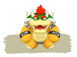 King Bowser by copy2499