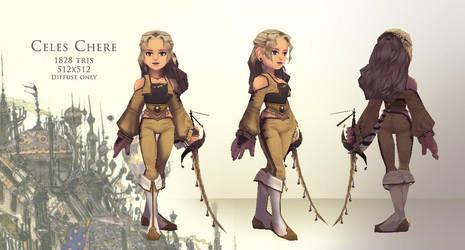 Celes Chere - 3D by Umerean