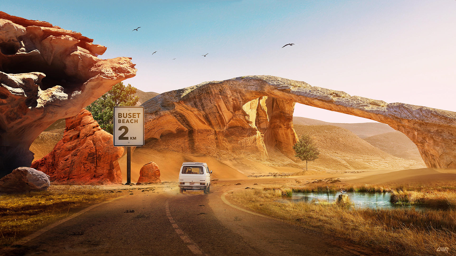 Travelgasmus : Road Trippin by dennybusyet