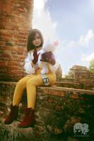 FFIX : Girl of Madain Sari by oruntia