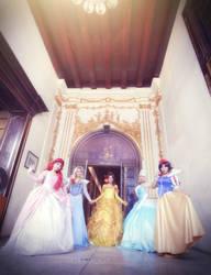 Disney Classic Princesses : hello ~ by oruntia