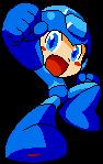 Mega Man - Powered Up Pixelart by KipoyTheNarwhal