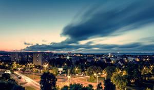 After work 'Gdansk by b3dnar