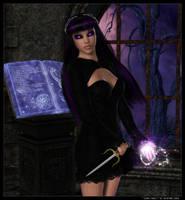 Dark Magic by vexiphne