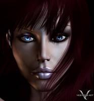 Serena Portrait by vexiphne