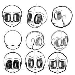 Skeleton sketch by MadiMakesBadComics4U