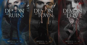 The Dark Chronicles Series by lottesgraphics