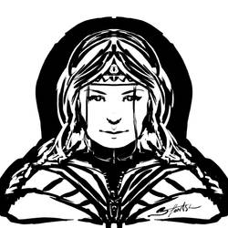 Some quick concept portrait sketch by mareimu