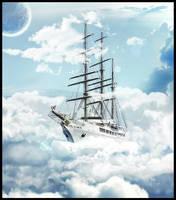 Ship to Heaven by zheroxas