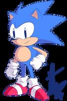 Random - Sonic the Hedgehog by Pixelated-Dude