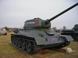 T-34-85 by DarkWizard83