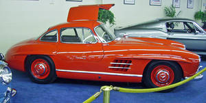 300SL Gullwing II by DarkWizard83