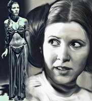 Princess Leia by Carrie Fisher by petnick