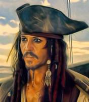 Captain Jack Sparrow by petnick