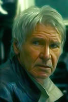 Harrison Ford as 'Han Solo' in 'The force awakens' by petnick