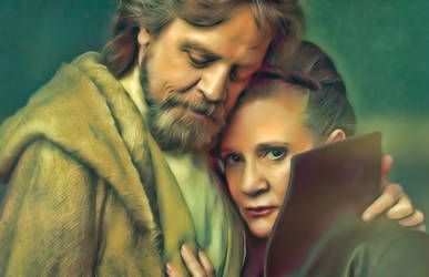Luke and Leia (The Last Jedi) by petnick