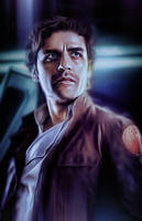 Poe Dameron from Star Wars the Last Jedi by petnick