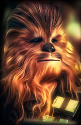Chewbacca from Star Wars by petnick