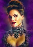 The Evil Queen/Regina Mills from OUAT by petnick