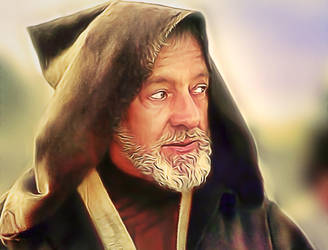 Star Wars Obi Wan Kenobi by Alec Guinness by petnick