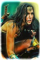 Wonder Woman by Gal Gadot by petnick