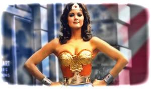 Lynda Carter  as Wonder Woman by petnick