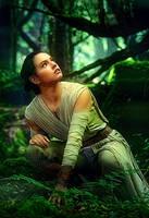 Star Wars Rey by Daisy Ridley by petnick