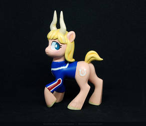 Pony Tsunotori sculpture UP FOR ADOPTION by Merionic