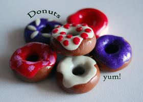 My fimo Donuts by Tadadada