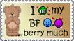 Berry much - Stamp by Tadadada